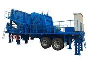Мобильный дробильно-сортировочный комплекс YIFAN 50 тонн